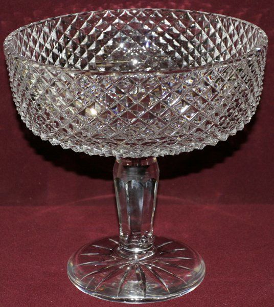"""WATERFORD CRYSTAL COMPOTE H9"""" DIA9"""""""