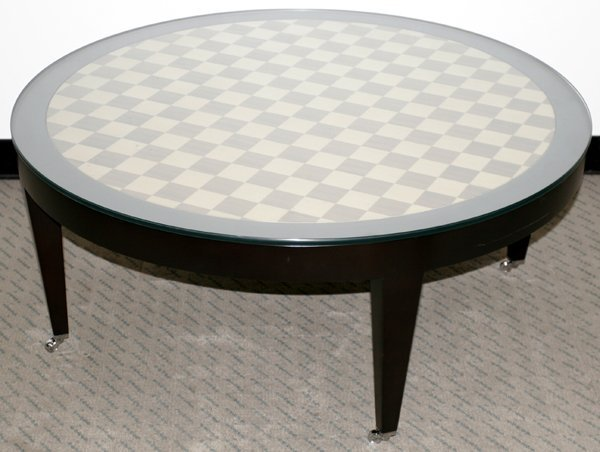 090017: DONGHIA ITALIAN COFFEE TABLE MADRID COLLECTION
