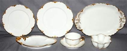090205 HAVILAND LIMOGES PORCELAIN DINNER SERVICE