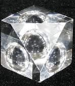 090488 STEUBEN GLASS PAPERWEIGHT H2