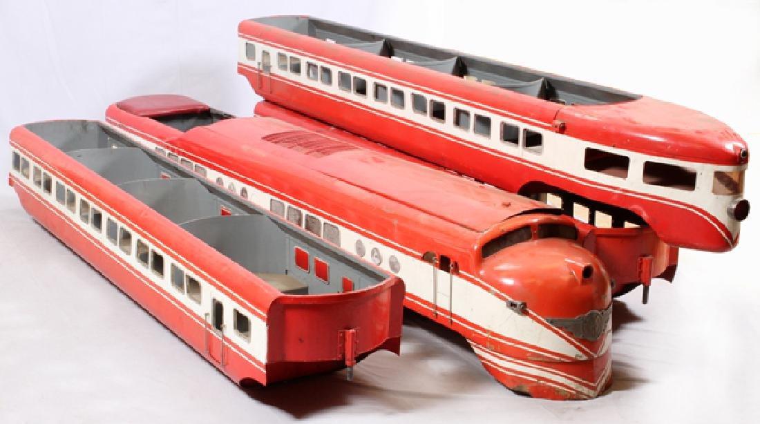 MINIATURE TRAIN CO. 'GRAND SCALE' RIDEABLE TRAIN