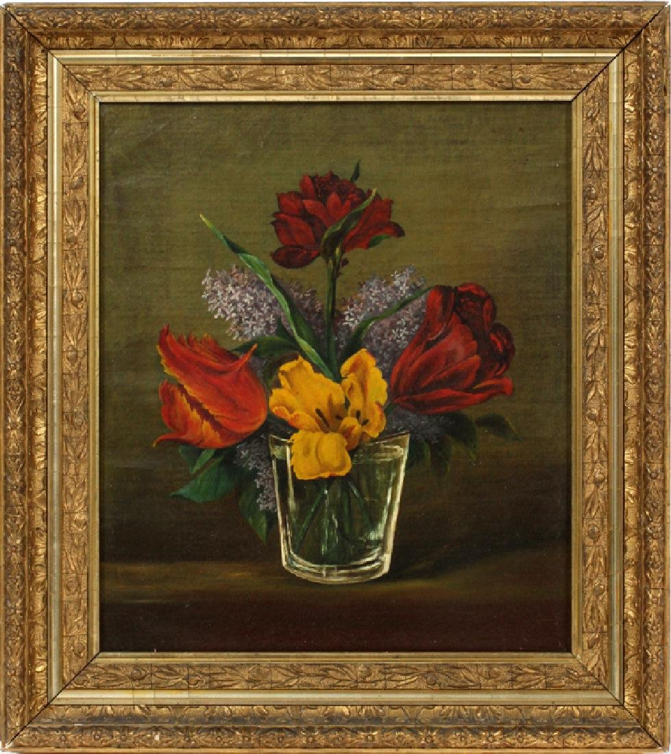 UNSIGNED OIL ON CANVAS C. 1920S