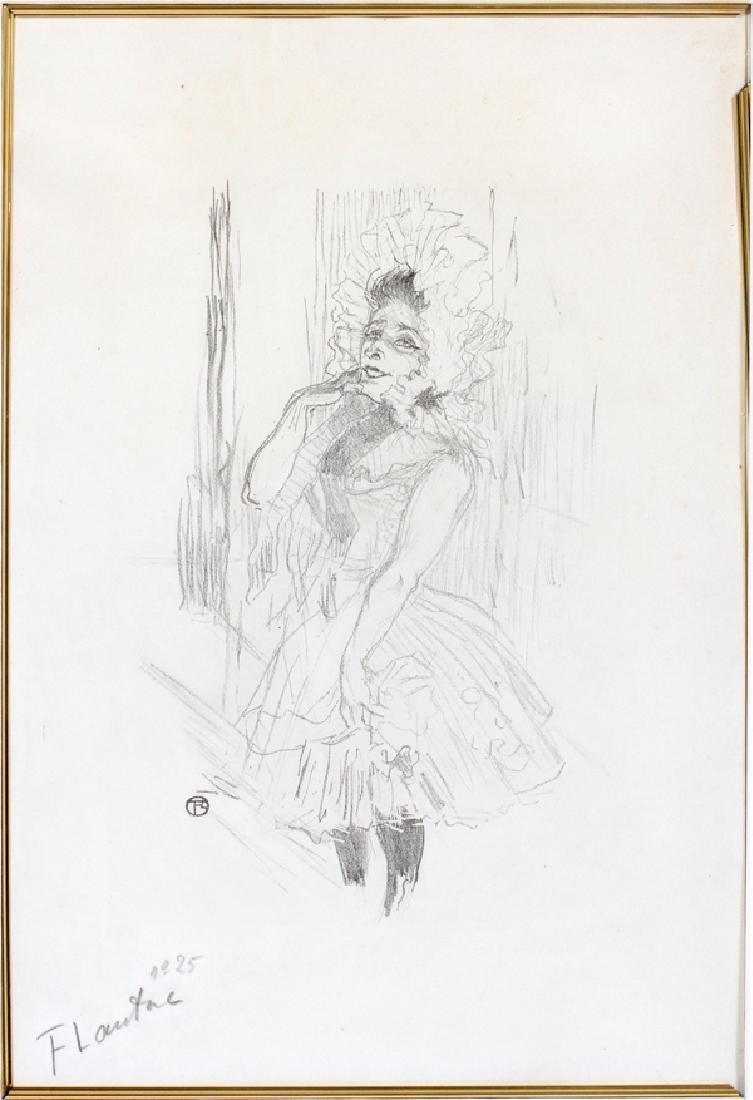 HENRI DE TOULOUSE-LAUTREC LITHOGRAPH 1894