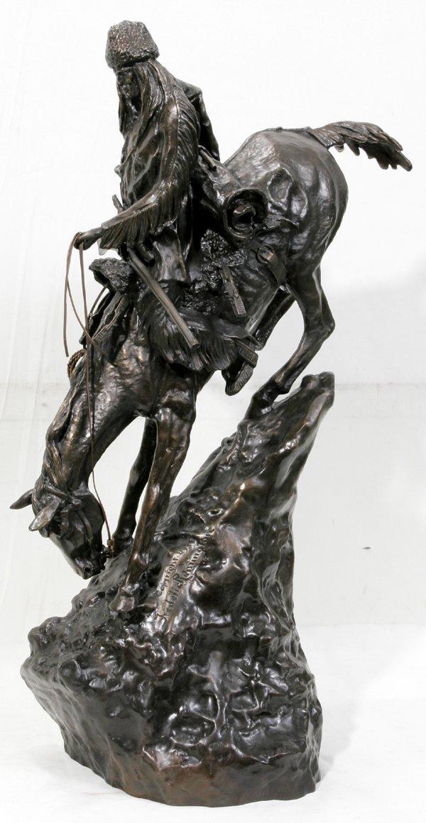 100014: HENRY BONNARD BRONZE CO., MOUNTAIN MAN