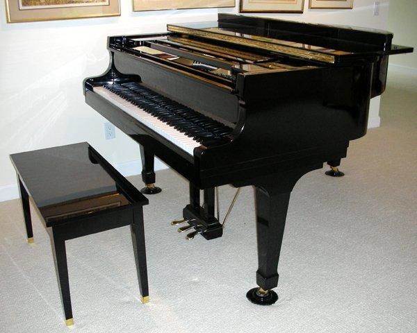 101017: KAWAI GRAND PIANO, MODEL K G, SERIAL # 1047871
