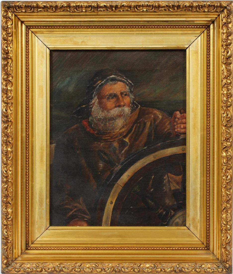 SIGNED OIL PAINTING 1890