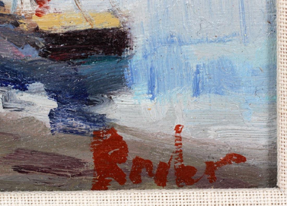 SIGNED OIL ON CANVAS - 2