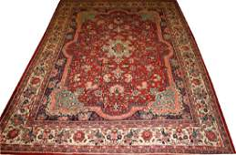 PERSIAN SAROUK WOOL RUG C 1940