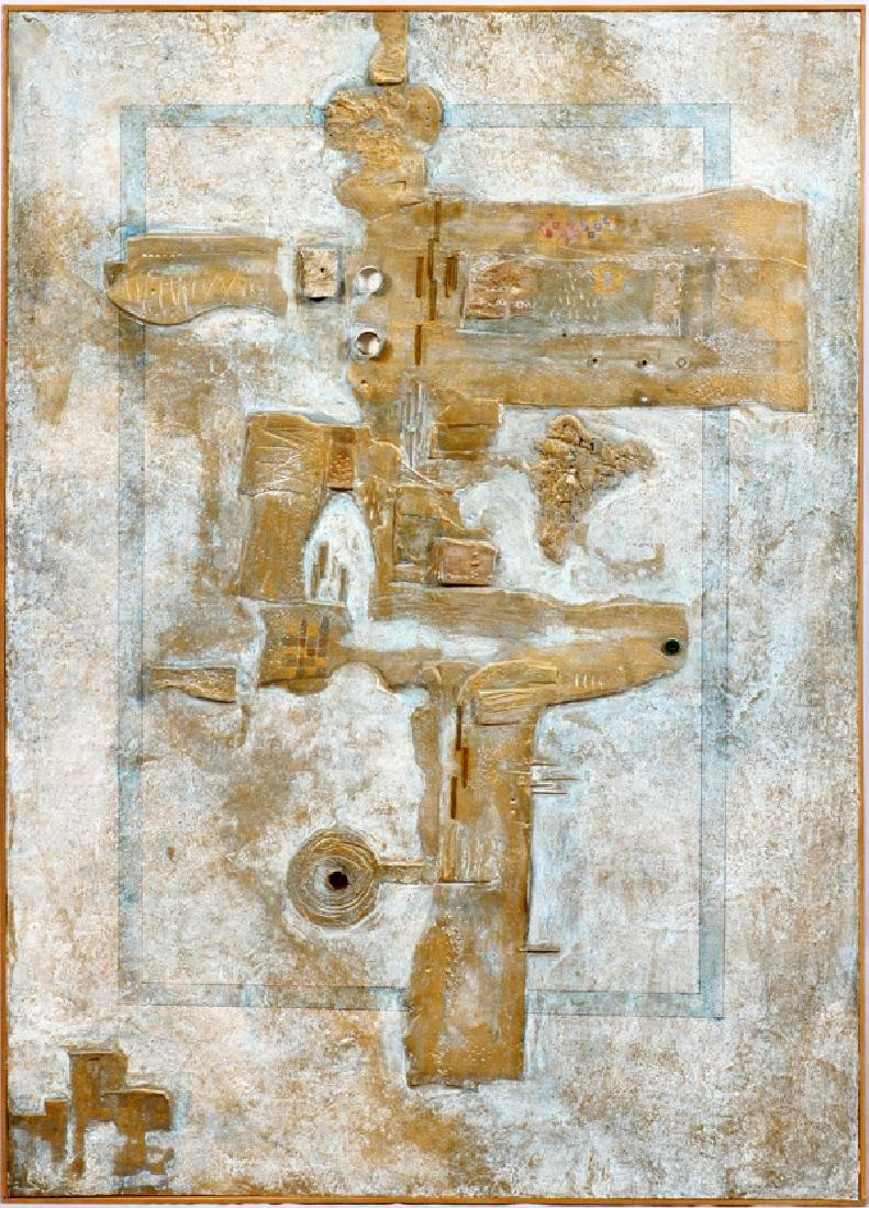 MIROSLAV RADA MIXED MEDIA 1964