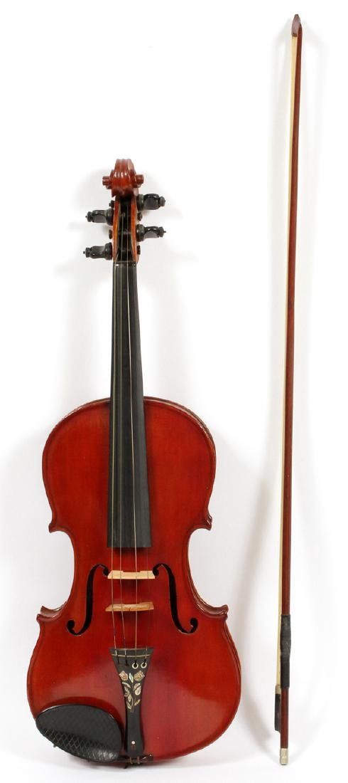 AFTER ANTONIUS STRADIVARIUS VIOLIN C1900