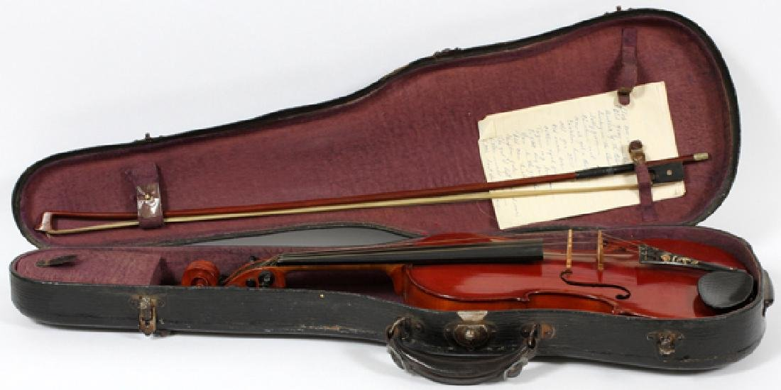 AFTER ANTONIUS STRADIVARIUS VIOLIN C1900 - 4