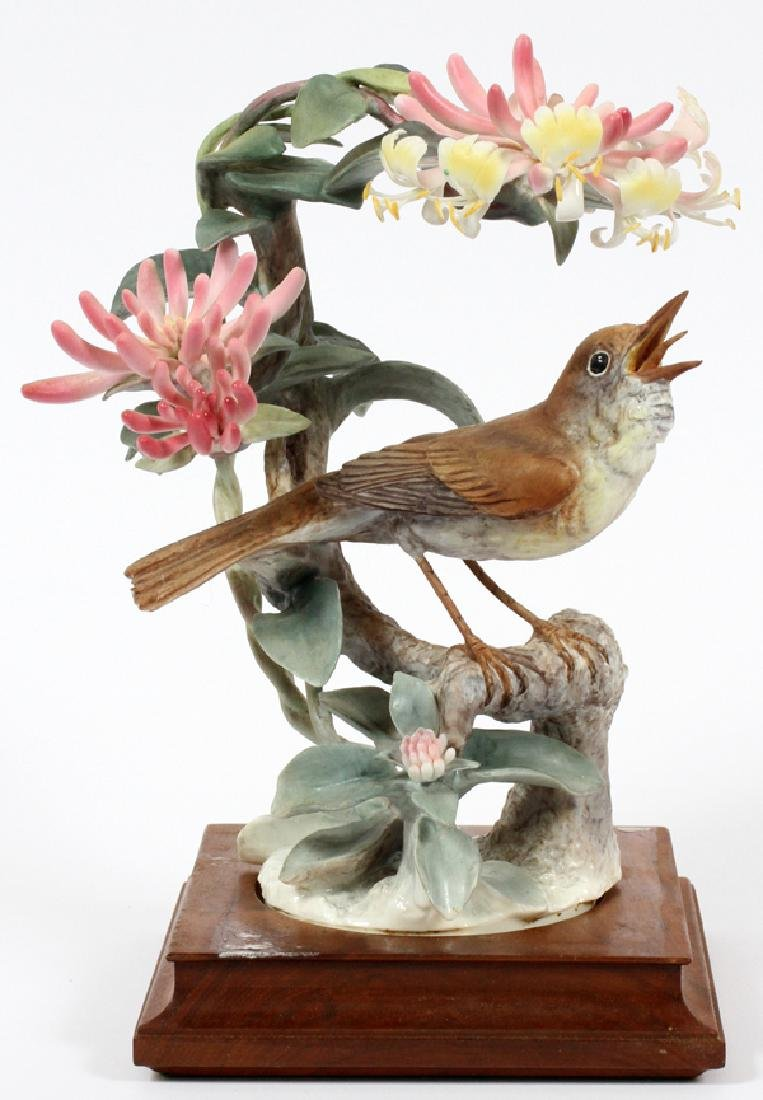 ROYAL WORCESTER BY DOROTHY DOUGHTY PORCELAIN BIRD