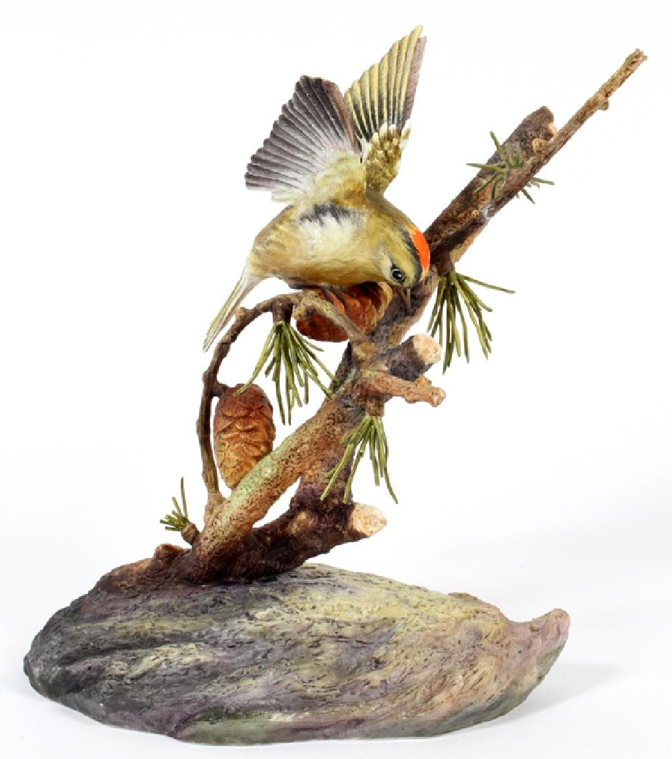 BOEHM LIMITED EDITION PORCELAIN BIRD FIGURINE C1980