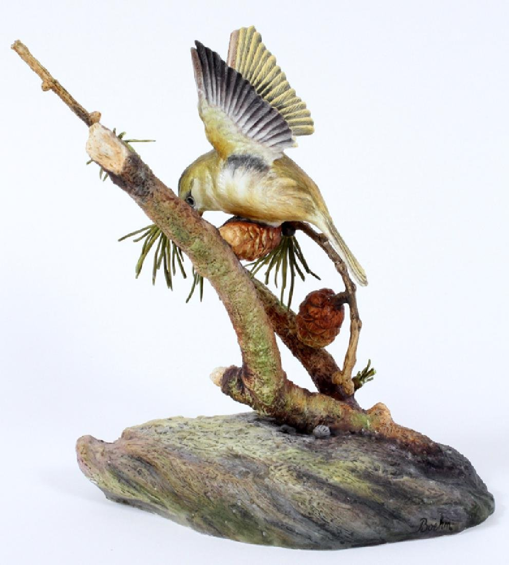 BOEHM LIMITED EDITION PORCELAIN BIRD FIGURINE C1980 - 2