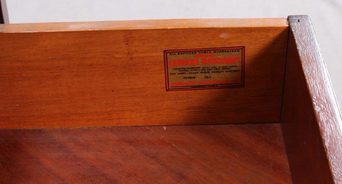 MAHOGANY ASSOCIATION INC. EMPIRE STYLE END TABLE - 3