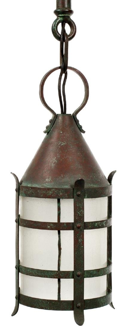 HANDEL ARTS & CRAFTS LANTERN EARLY 20TH C.