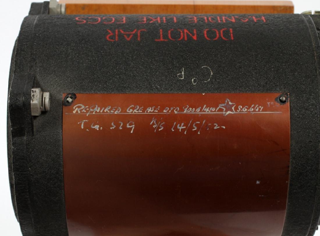 WWII BRITISH SPITFIRE GYRO HORIZON INSTRUMENT C1940 - 3