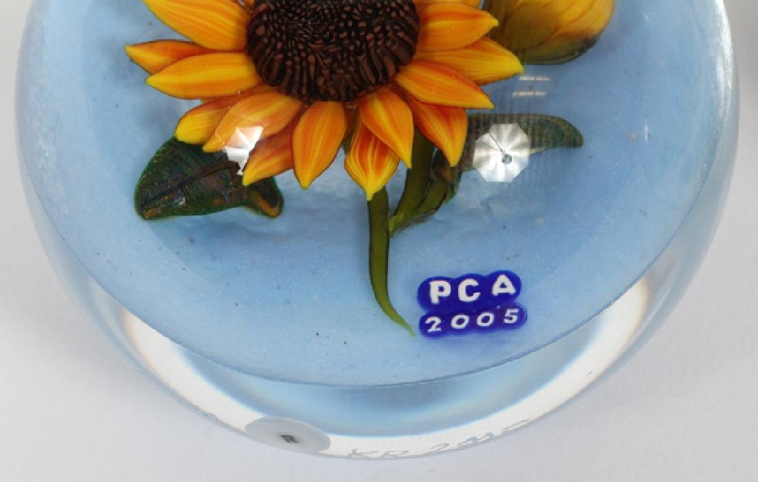 PCA GLASS PAPERWEIGHTS 5 PCS. - 2