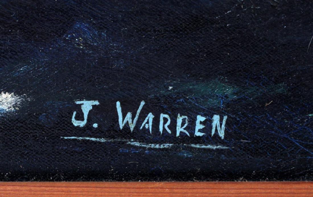 J WARREN OIL ON CANVAS - 3