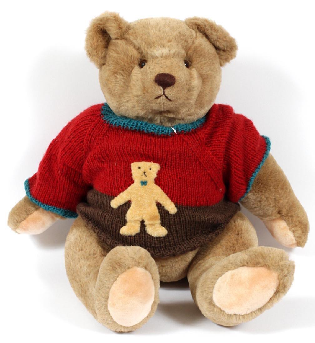 GUND TEDDY BEAR MADE IN GERMANY C1982