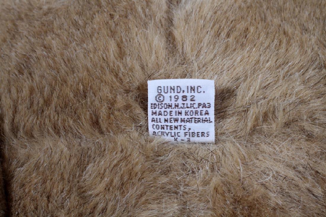 GUND TEDDY BEAR MADE IN GERMANY C1982 - 2