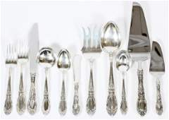 TOWLE 'KING RICHARD' STERLING FLATWARE SERVICE
