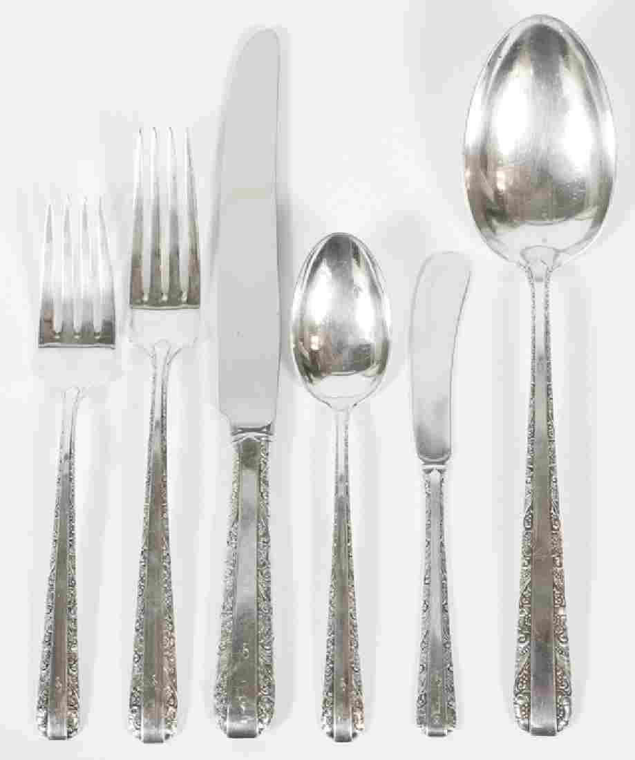 TOWLE 'CANDLELIGHT' STERLING FLATWARE FOR EIGHT