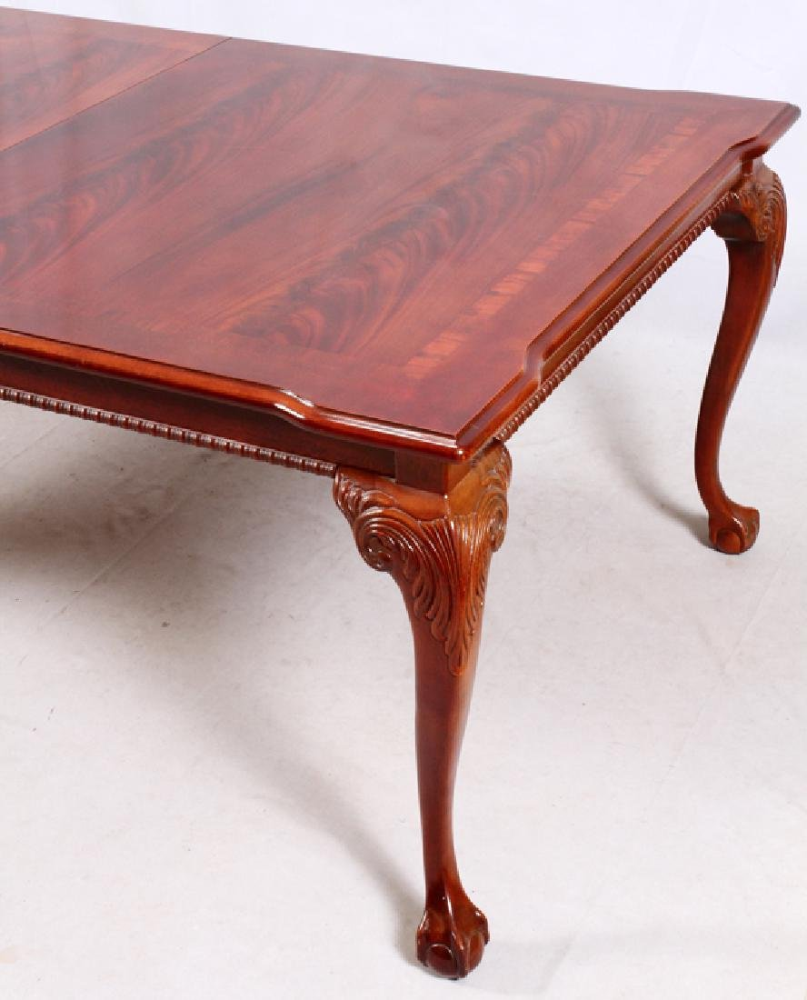 THOMASVILLE CHIPPENDALE STYLE MAHOGANY DINING SET - 3