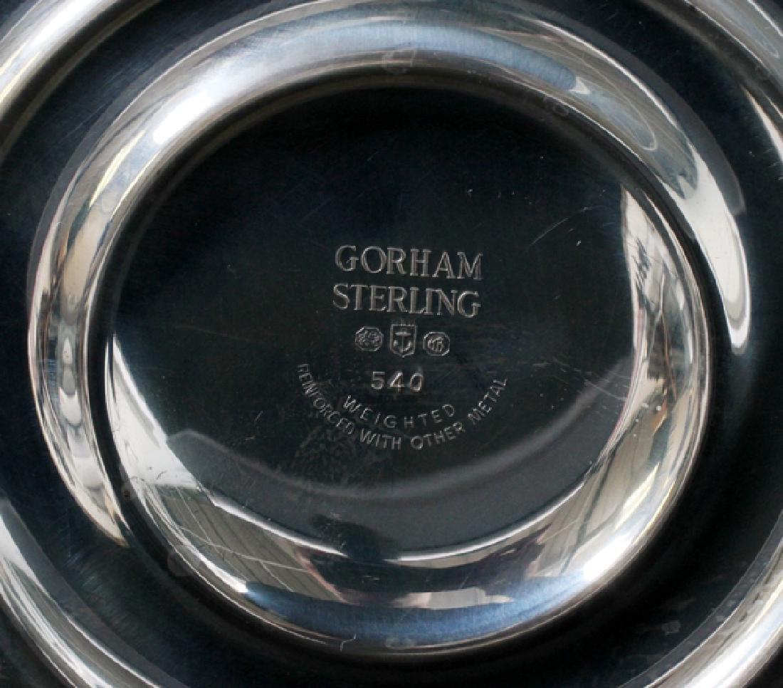 GORHAM STERLING AND CUT GLASS EPERGNE - 3