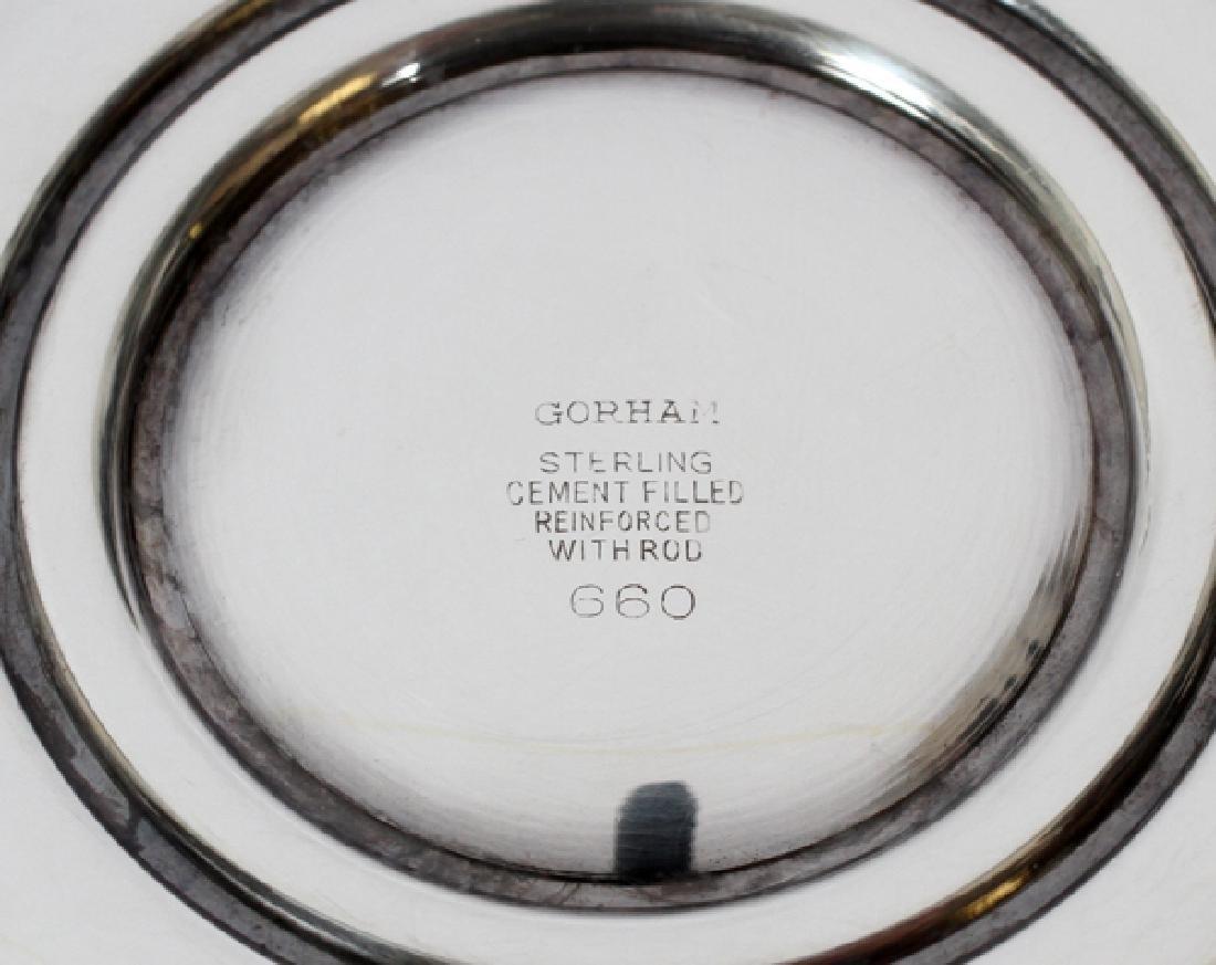 GORHAM STERLING CANDELABRA PAIR - 3