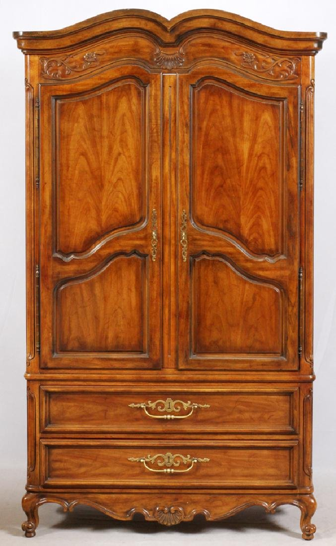 DREXEL HERITAGE CHIPPENDALE STYLE ARMOIRE