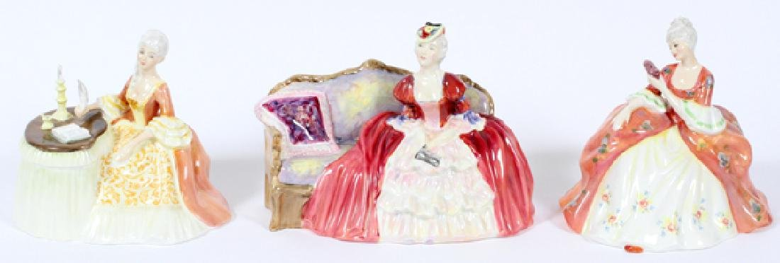 ROYAL DOULTON PORCELAIN FIGURINES THREE