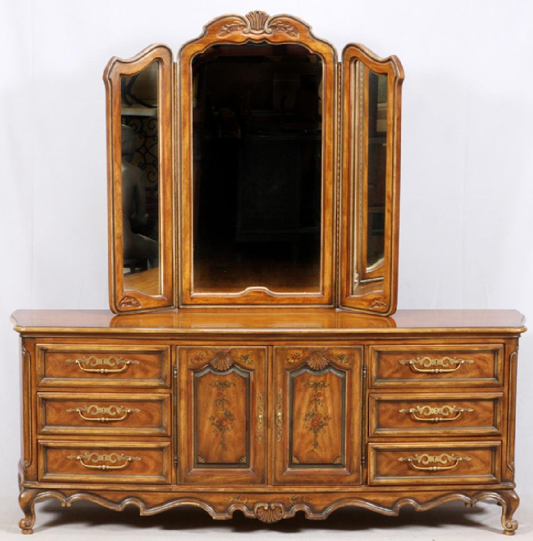 DREXEL HERITAGE COUNTRY FRENCH STYLE DRESSER