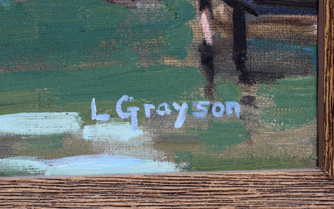 L GRAYSONOIL ON CANVAS - 2