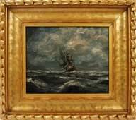 JAMES ARTHUR MERRIAM OIL ON CANVAS