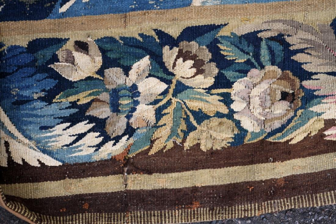 FRENCH/FLEMISH TAPESTRY 18TH C. - 10