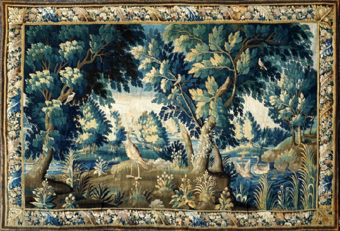 FRENCH/FLEMISH TAPESTRY 18TH C. - 12