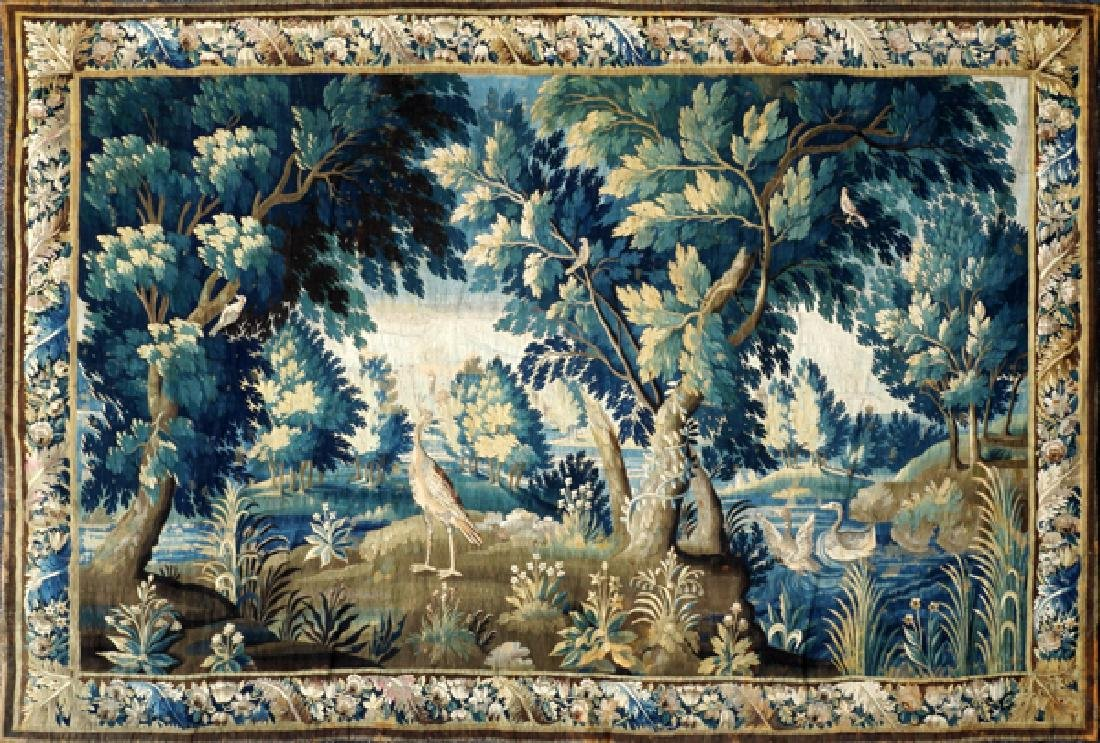 FRENCH/FLEMISH TAPESTRY 18TH C.