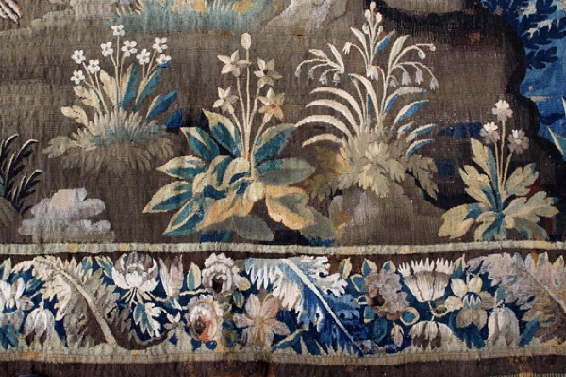 FRENCH/FLEMISH TAPESTRY 18TH C. - 3