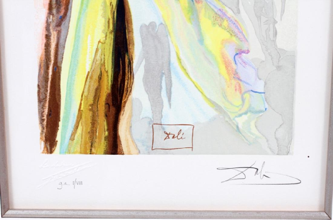 AFTER SALVADOR DALI COLOR RELIEF ENGRAVING C. 1964 - 3