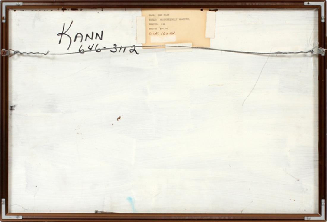 KAY KANN OIL ON CARD BOARD - 3
