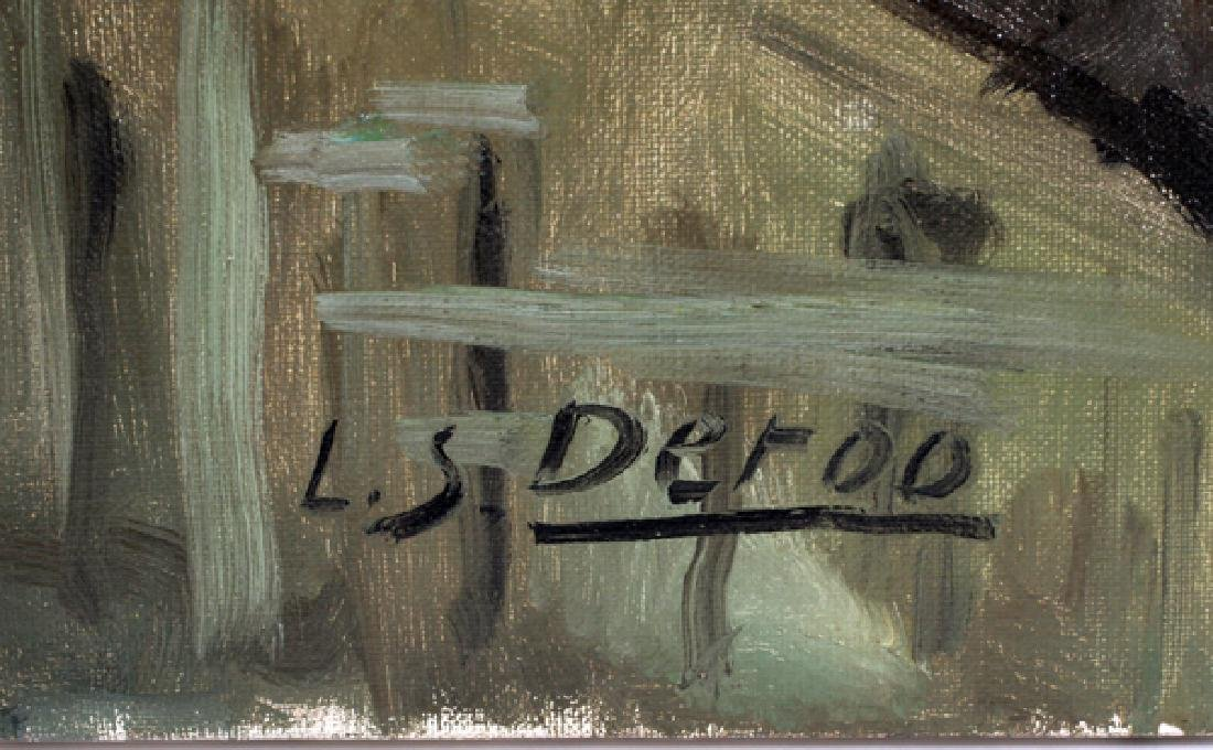 L.S. DEROO OIL ON CANVAS - 2