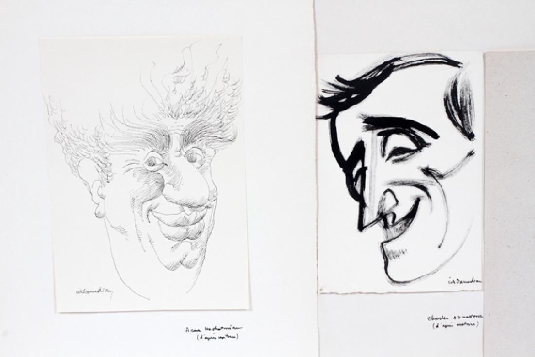 CIK DAMADIAN INK DRAWING CARICATURES - 2