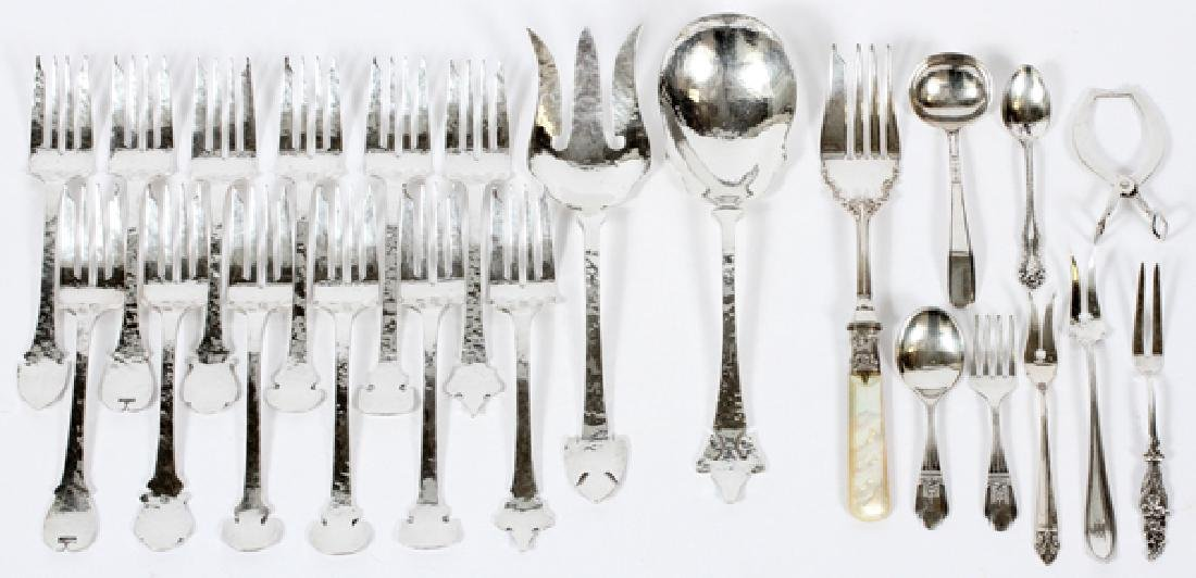 SHREVE & CO. WEBSTER ETC. STERLING SILVER FLATWARE