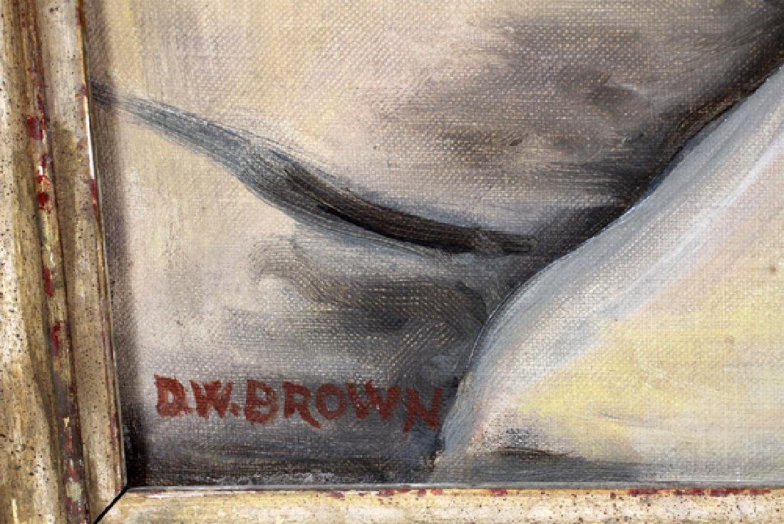 DOROTHY W. BROWN OIL ON CANVAS - 2