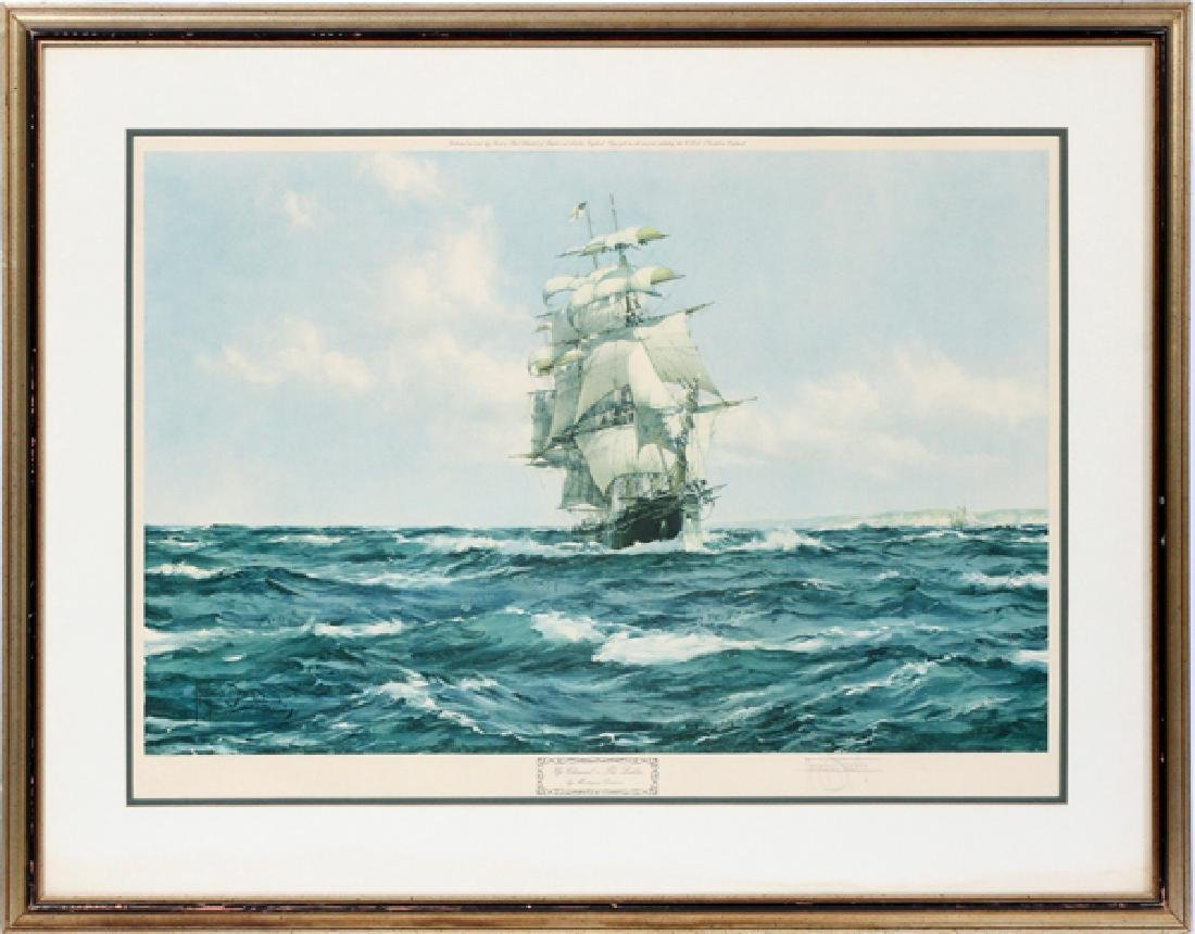 MONTAGUE DAWSON ARTIST PROOF COLLOTYPE IN COLOR