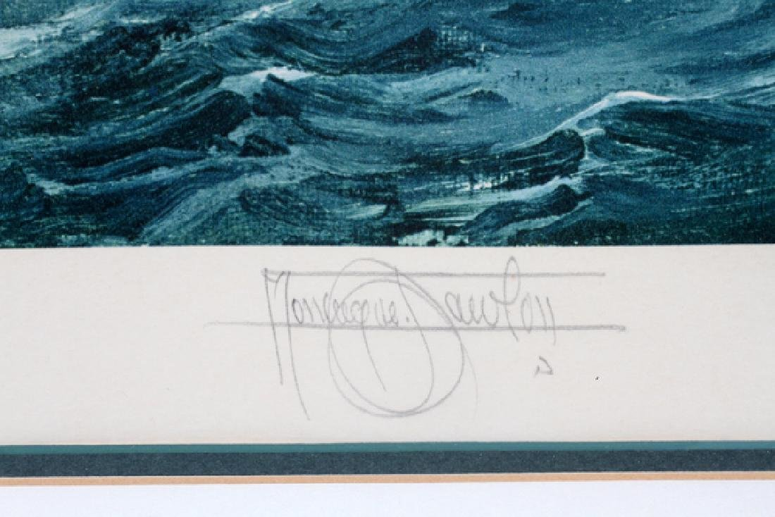 MONTAGUE DAWSON ARTIST PROOF COLLOTYPE IN COLOR - 2