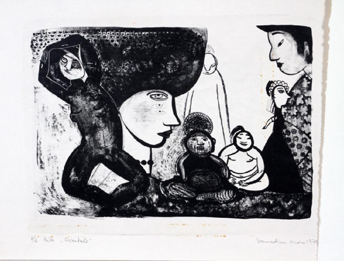 MAIA DAMADIAN 3 LITHOGRAPHS 2 WOODCUTS 1 ETCHING - 2