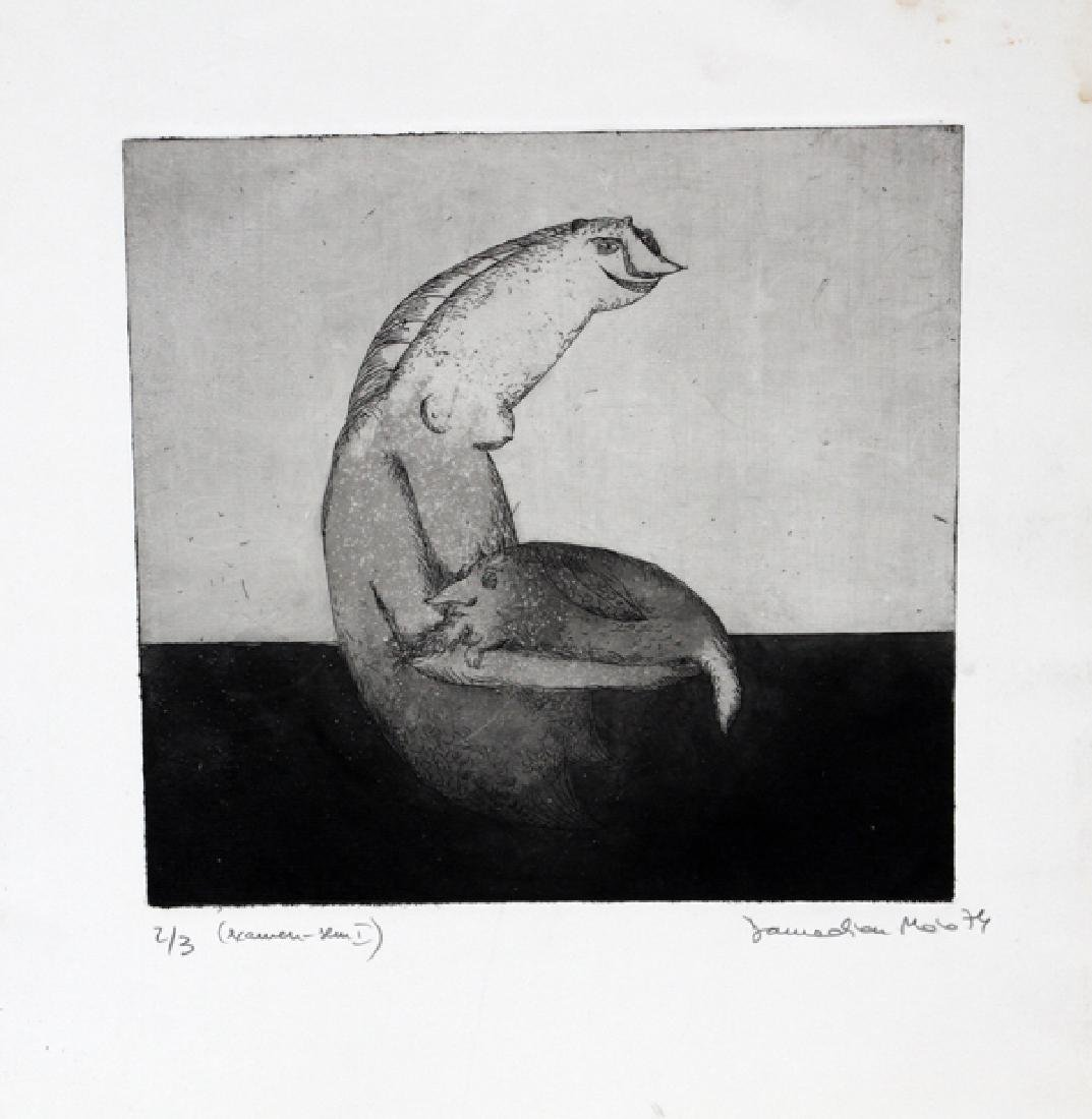 MAIA DAMADIAN 3 LITHOGRAPHS 2 WOODCUTS 1 ETCHING - 3