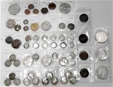 111351: MORGAN/PEACE SILVER DOLLARS, BARBER HEAD DIMES